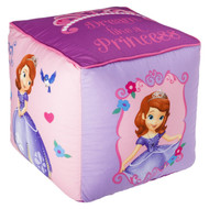 "Sofia the First ""Dream like a Princess"" Printed Pouf Ottoman"