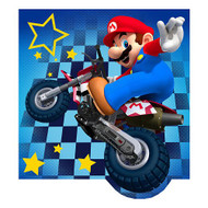 "Super Mario ""Racing To Win"" Decorative Plush Pillow"