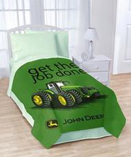 John Deere Plush Blanket(Get the Job Done)