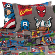 "Marvel Heroes ""Super Heroes"" Twin Size Sheets Set - Avengers"