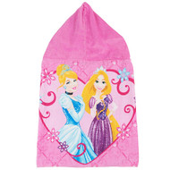 Disney Princess Hooded Towel - Cinderella and Rapunzel