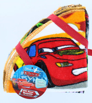Disney Pixar Cars Lightning McQueen Mater McMissile Washcloth Bundle Set of 6