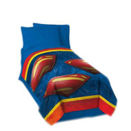 Superman Man of Steel Blanket Bedding