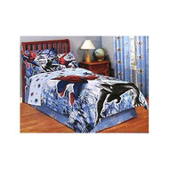 Spiderman Twin Bed Skirt