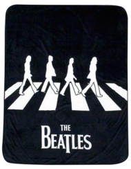"The Beatles 50"" by 60"" Plush Throw Blanket"