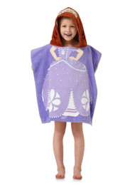 "Sofia the First ""Sofia Scrolls"" Hooded Towels/Poncho"