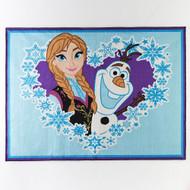 Disney Frozen Anna & Olaf Rug - 40'' x 54''