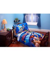 Disney Toy Story Defense Mode 4-Piece Toddler Bedding Set