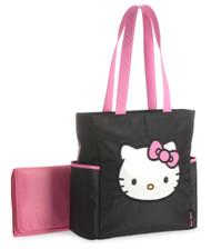 Hello Kitty Tall Applique Diaper Tote Bag