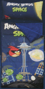 """Angry Birds """"Space"""" Slumber Bag with Pillow"""