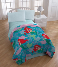 Ariel the Little Mermaid 'Shimmer' Twin Size Comforter