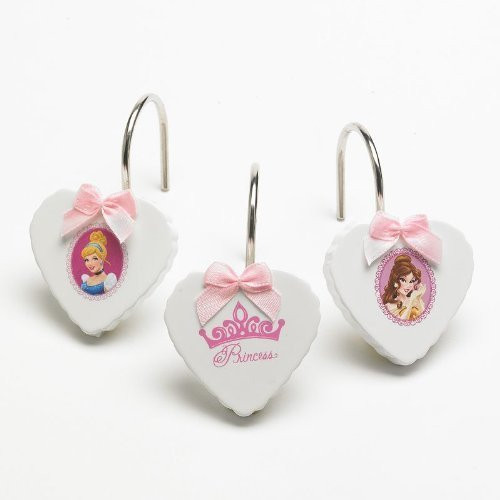 Disneys Princess Timeless Elegance Shower Curtain Hooks
