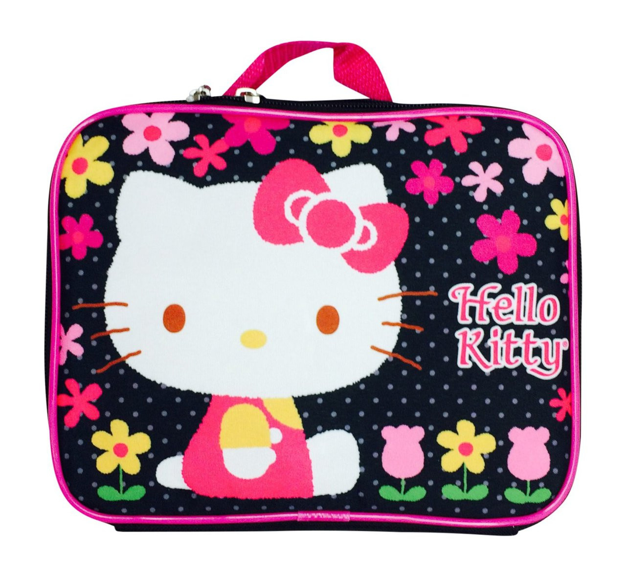 7283fe566f Sanrio Hello Kitty Floral Lunch Bag - Kids Whs