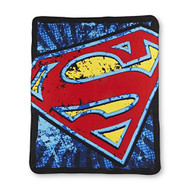 "Superman Shield Super Plsuh Throw(Measures 46"" by 60"")"