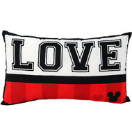 "Disney 2-Pack Mickey Classic ""Luv"" Decorative Pillows"