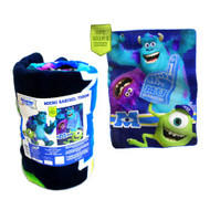 Disney / Pixar Monsters University Micro Raschel Throw Blanket