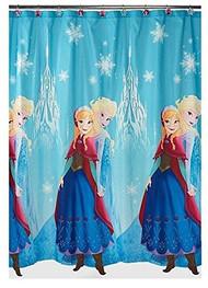 Disney Frozen Anna and Elsa Shower Curtain