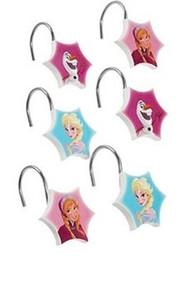 Disney Frozen Shower Curtain Hooks