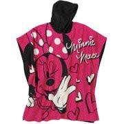 Disney Minnie Mouse Fleece Hooded Poncho