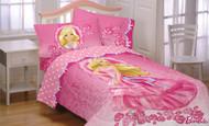 Mattel Barbie Twin Bed Comforter
