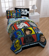 Star Wars Classic Characters Twin Comforter Bedding