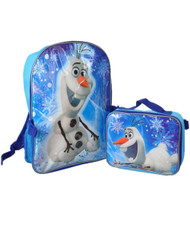 "Disney Frozen ""Fun with Olaf"" Backpack with Lunchbox"