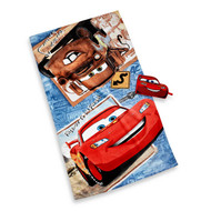 Disney Cars Bath Towel and Wash Mitt Set