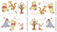 Disney Pooh Delightful Day Wall Decals