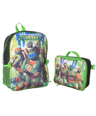 Teenage Mutant Ninja Turtles Backpack with Lunch Bag
