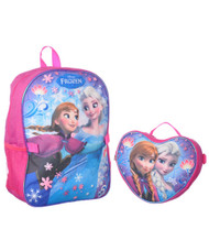 "Disney Frozen ""Snow Flight"" Backpack with Lunch Bag"