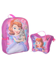 Sofia the First Backpack with Lunch Bag