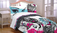 Monster High 3pc Twin Bed Sheet
