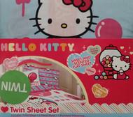 Hello Kitty Sweet & Scented Twin Sheet Set