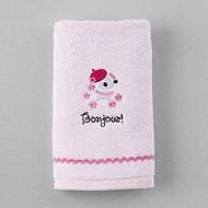 Hello Kitty Bonjour Hand Towel