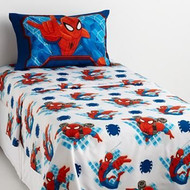 Marvel Ultimate Spiderman Deluxe Full Size Sheet Set