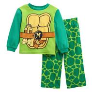 Nickelodeon Teenage Mutant Ninja Turtles Fleece Pajama Set- 3T