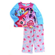 My Little Pony Girls Fleece Pajamas (Size 8)