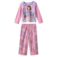 Disney Sofia the First Fleece Toddler Pajama Set