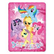 My Little Pony Fleece Throw Blanket