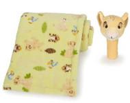 Disney The Lion King Fleece Blanket & Rattle Set