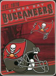 Tampa Bay Buccaneers NFL Plush Blanket