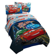 Disney Pixar Cars 3pcs Twin Comforter Set