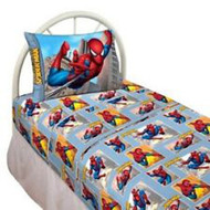 Marvel Spiderman Webslinger Twin Sheets Set