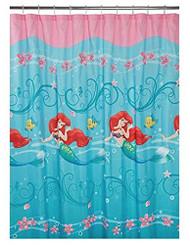 Disney Little Mermaid Shower Curtain