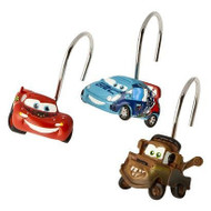 Pixar Cars Shower Curtain Hooks