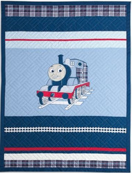 Thomas the Tank Twin Quilt and Sham Set