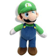 Super Mario Bros Luigi Backpack Plush 14""