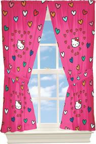 Hello Kitty Window Panels