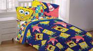 "Nickelodeon ""Spongebob & Patrick"" 4pc Full Sheet Set"