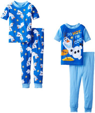 Disney Boy's Frozen Olaf 2pk Pajamas Set